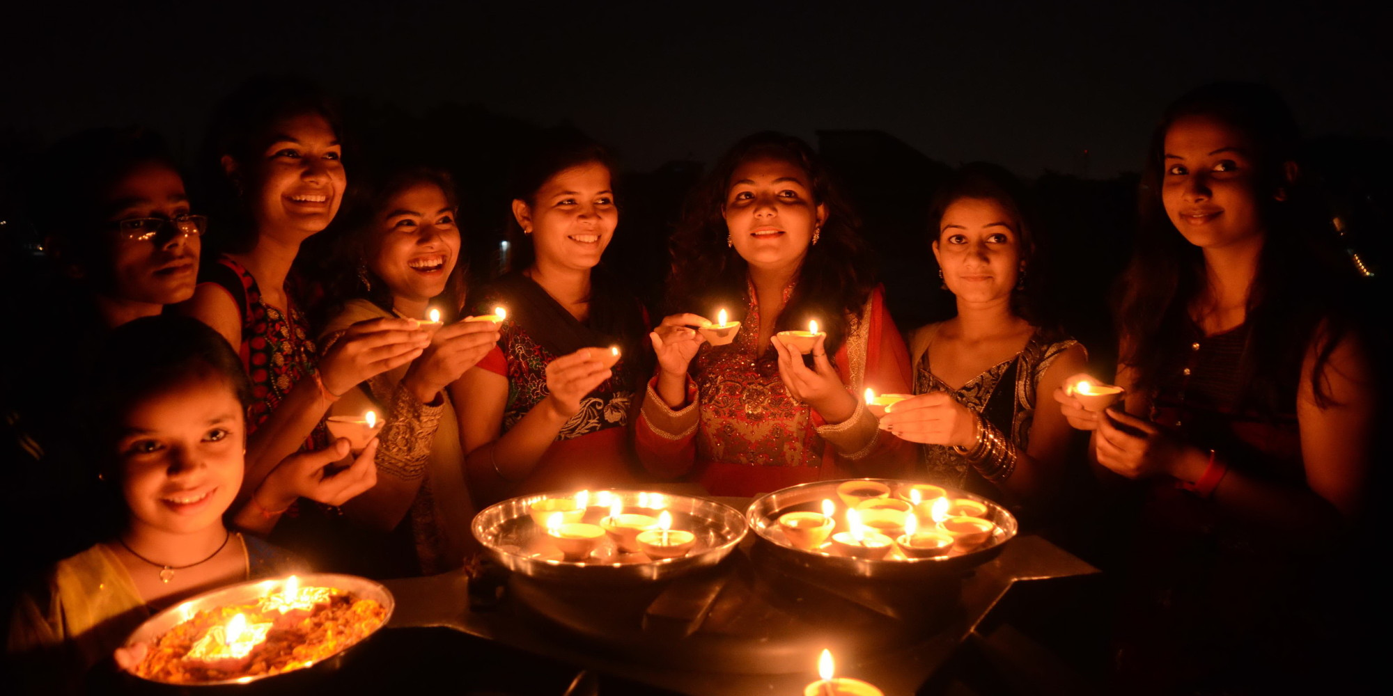 Diwali 2014, Celebrating The Festival Of Lights (PHOTOS) | HuffPost for Deepavali Festival Celebration  555kxo