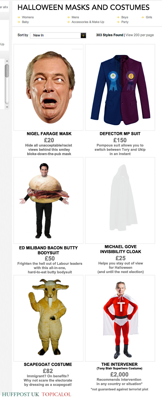 political halloween costumes