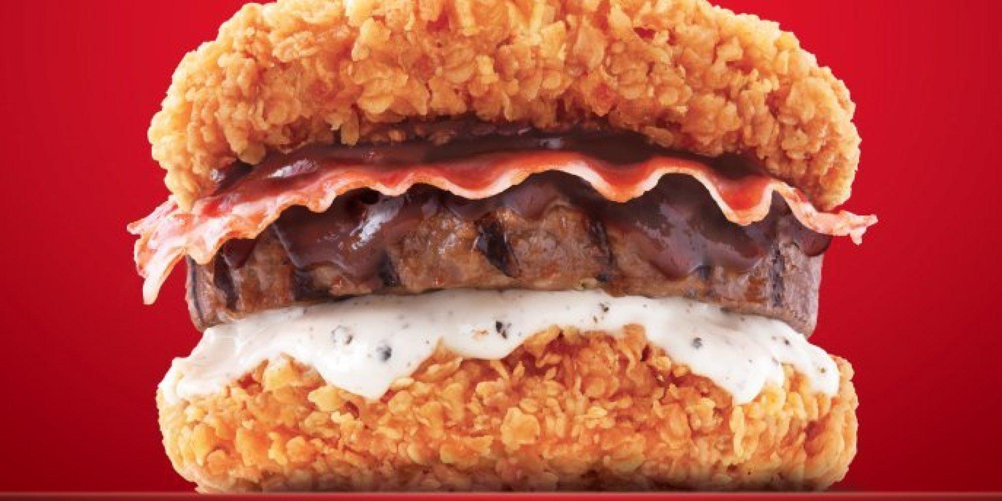Favori KFC's New 'Zinger Double Down King' Is An Even Bigger Monstrosity  IU84