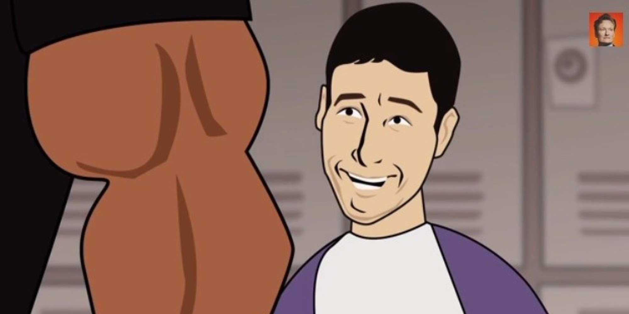 Animated Big Cock adam sandler's story about shaq's penis actually gets