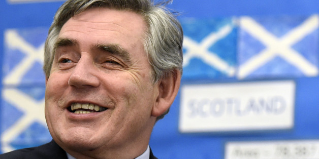 Embargoed to 0001 Sunday October 12File photo dated 19/09/14 of former Prime Minister Gordon Brown who has urged Holyrood's unionist parties to unite around his plan to make the Scottish Parliament responsible for raising over half of its own revenue.