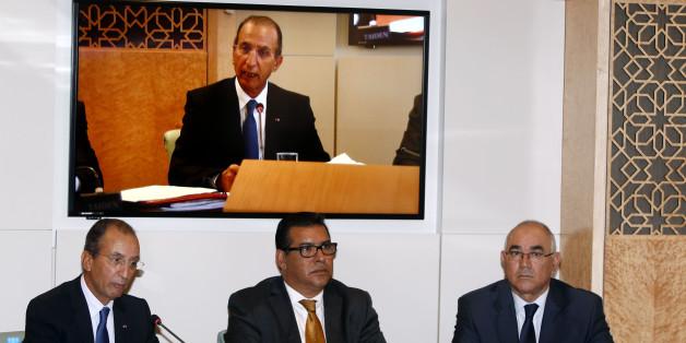 Le ministre de l'Intérieur, Mohamed Hassad, présentant, mercredi 15 octobre à Rabat, le projet de loi relatif à la révision des listes électorales générales, devant la commission de l'Intérieur, des collectivités territoriales, de l'habitat et de la politique de la ville à la Chambre des représentants.