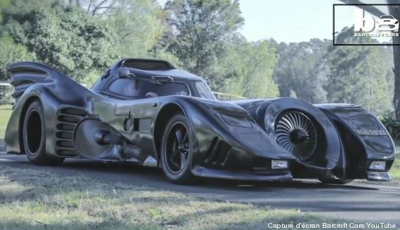 batmobile batman