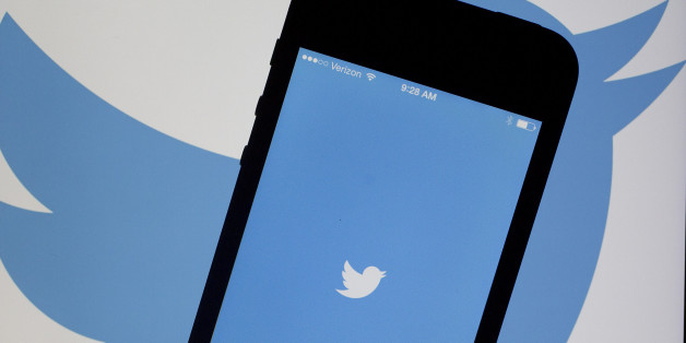 The Twitter Inc. application and logo