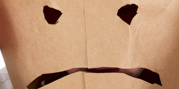 The Glory of Homemade Brown Paper Bag Masks on Halloween   HuffPost