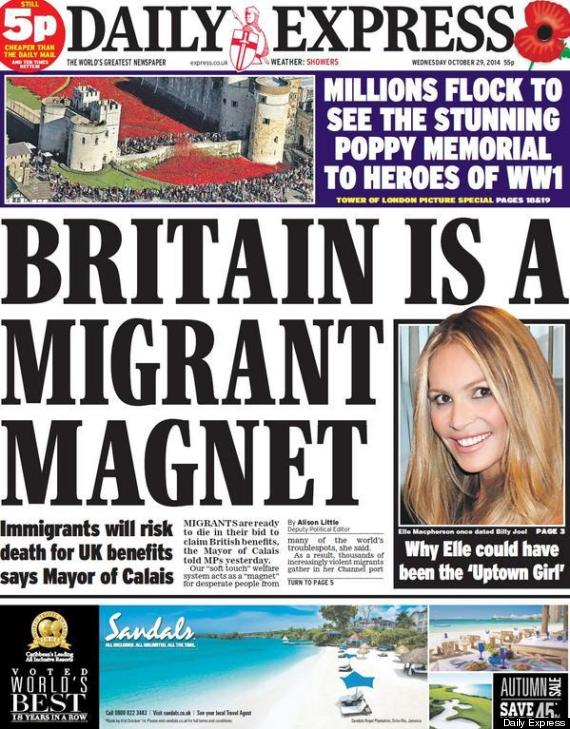 daily express immigration