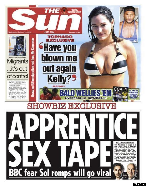 the sun immigration front page