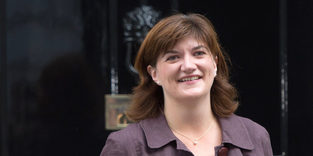 Education secretary Nicky Morgan arrives in Downing Street, London, as Prime Minister David Cameron starting putting his new ministerial team in place.