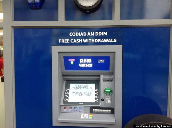 tesco cashpoint wales