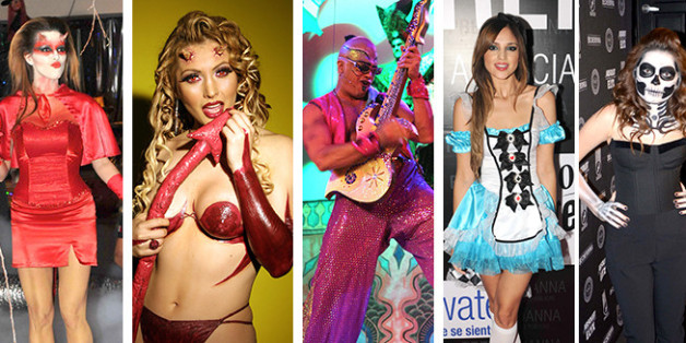 disfraces de halloween 2014 famosos