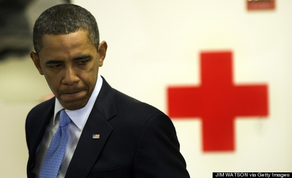 obama red cross