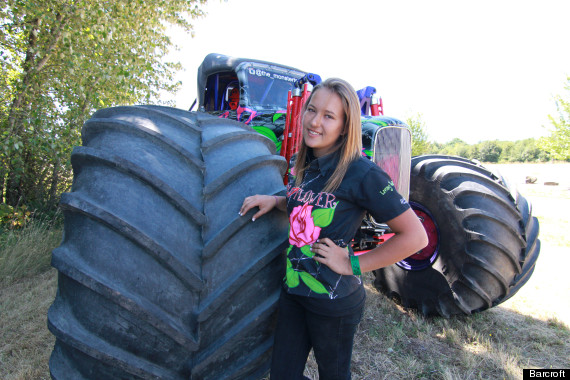 female monster truck