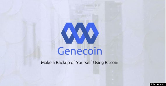 Backup Your DNA Using Bitcoins