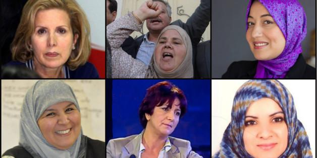 Six femmes têtes de listes élues à l'Assemblée tunisienne