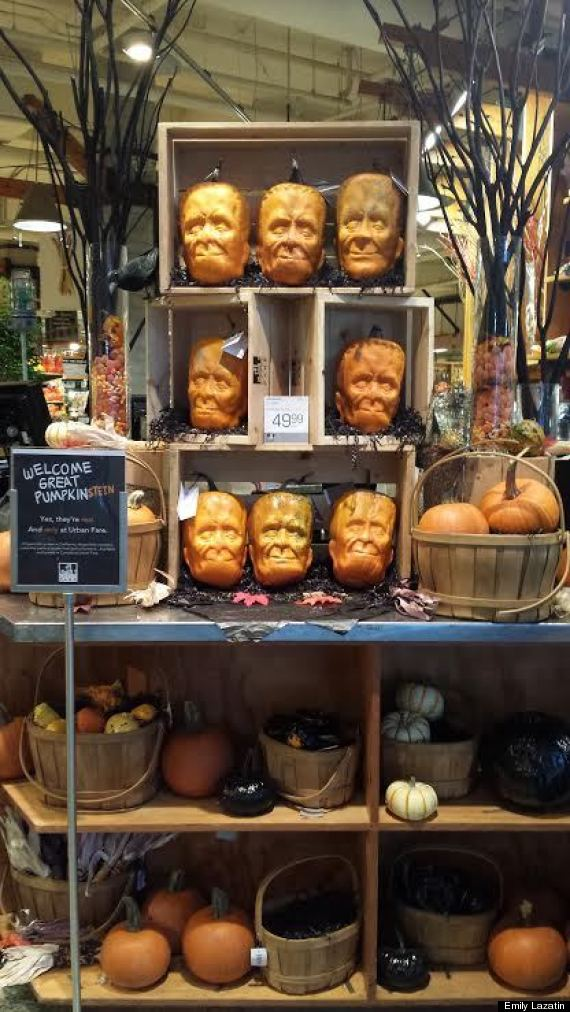 frankenstein pumpkin