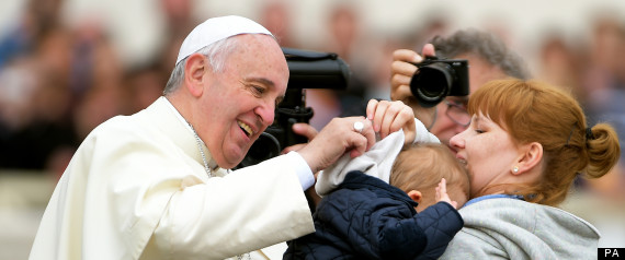 pope child funny