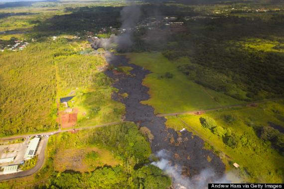 lava hawaii