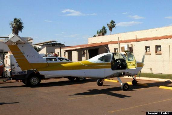 plane driven to pub