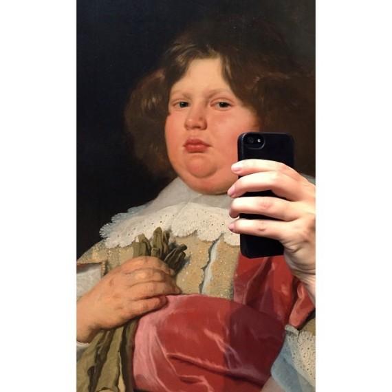 selfie musee 1