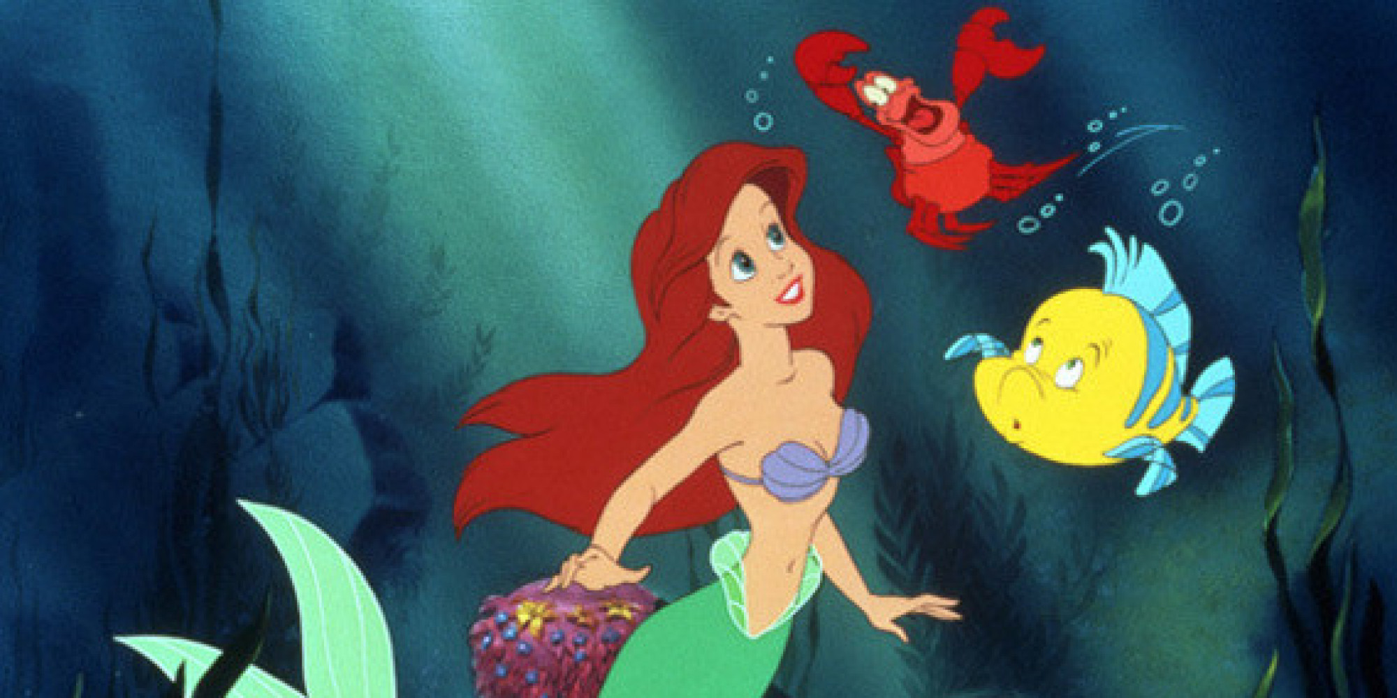 what if all your favorite disney princesses were the little mermaid huffpost