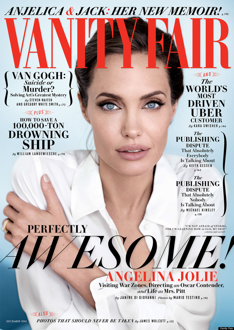 Angelina Jolie Most Beautiful Woman Vanityfair