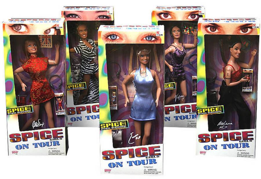 bonecas spice girls