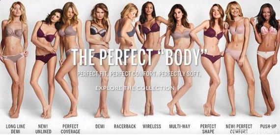 the perfect body vs