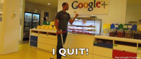 google i quit