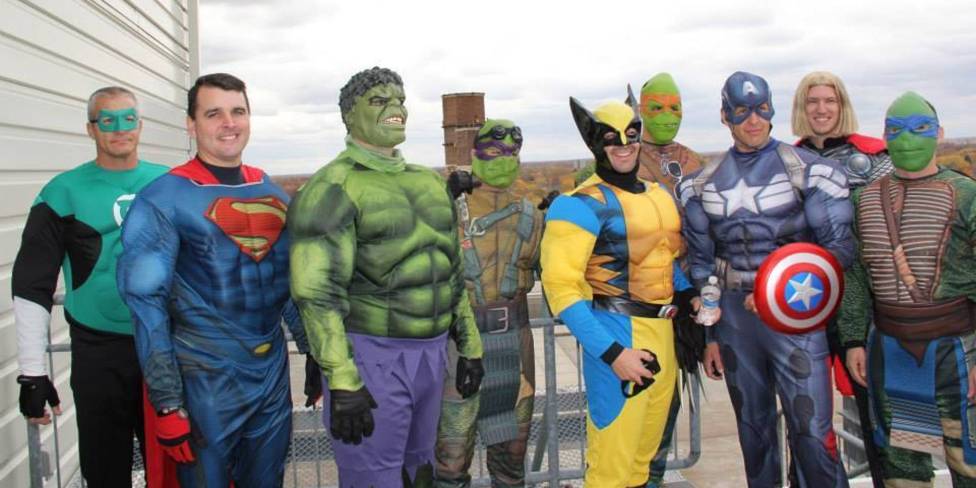 Were Going To Be Seeing Some Really >> SWAT Team Dresses Up As Superheroes, Saves The Day At Children's Hospital | HuffPost