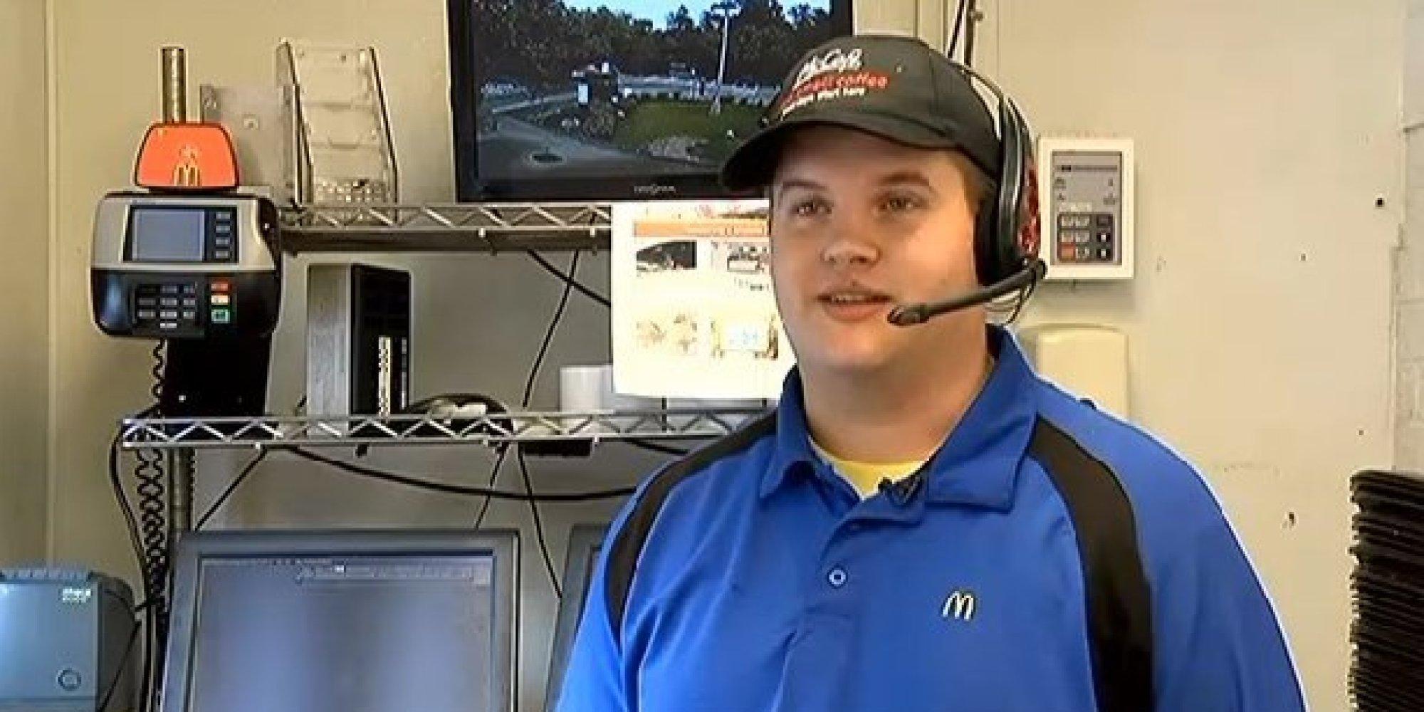 We've Never Seen A Happier McDonald's Drive-Thru Worker ...