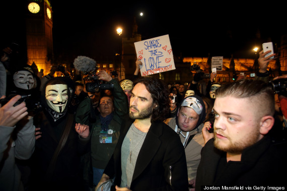 russell brand march