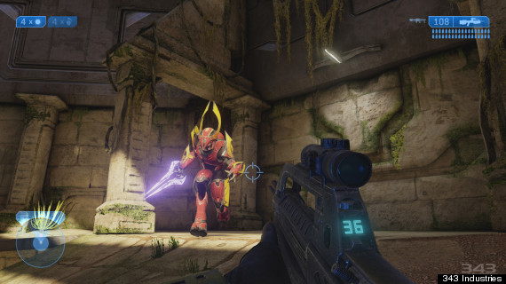 halo 2 anniversary edition gameplay