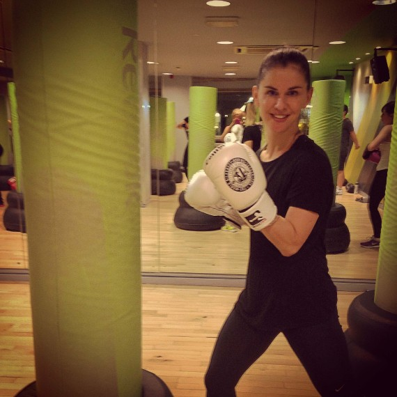 sarah boxing