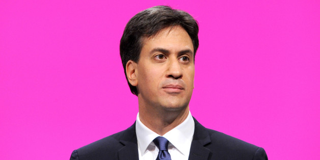 Labour leader Ed Miliband delivers the leaders speech during the Labour Conference 2014 at the Manchester Central.