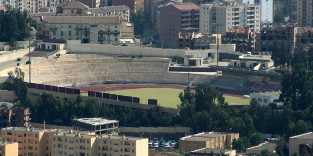 Le stade 1er novembre de Tizi Ouzou