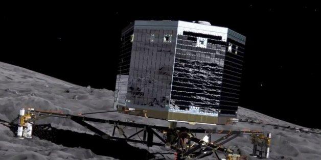 Le robot Philae doit mener à bien la mission Rosetta en se posant sur une comète, du jamais vu.