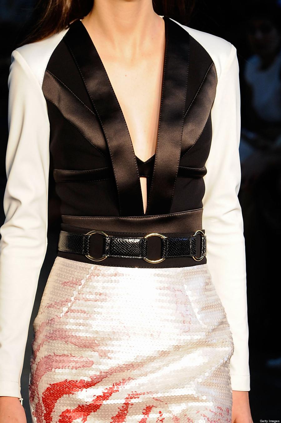 cintura marcada
