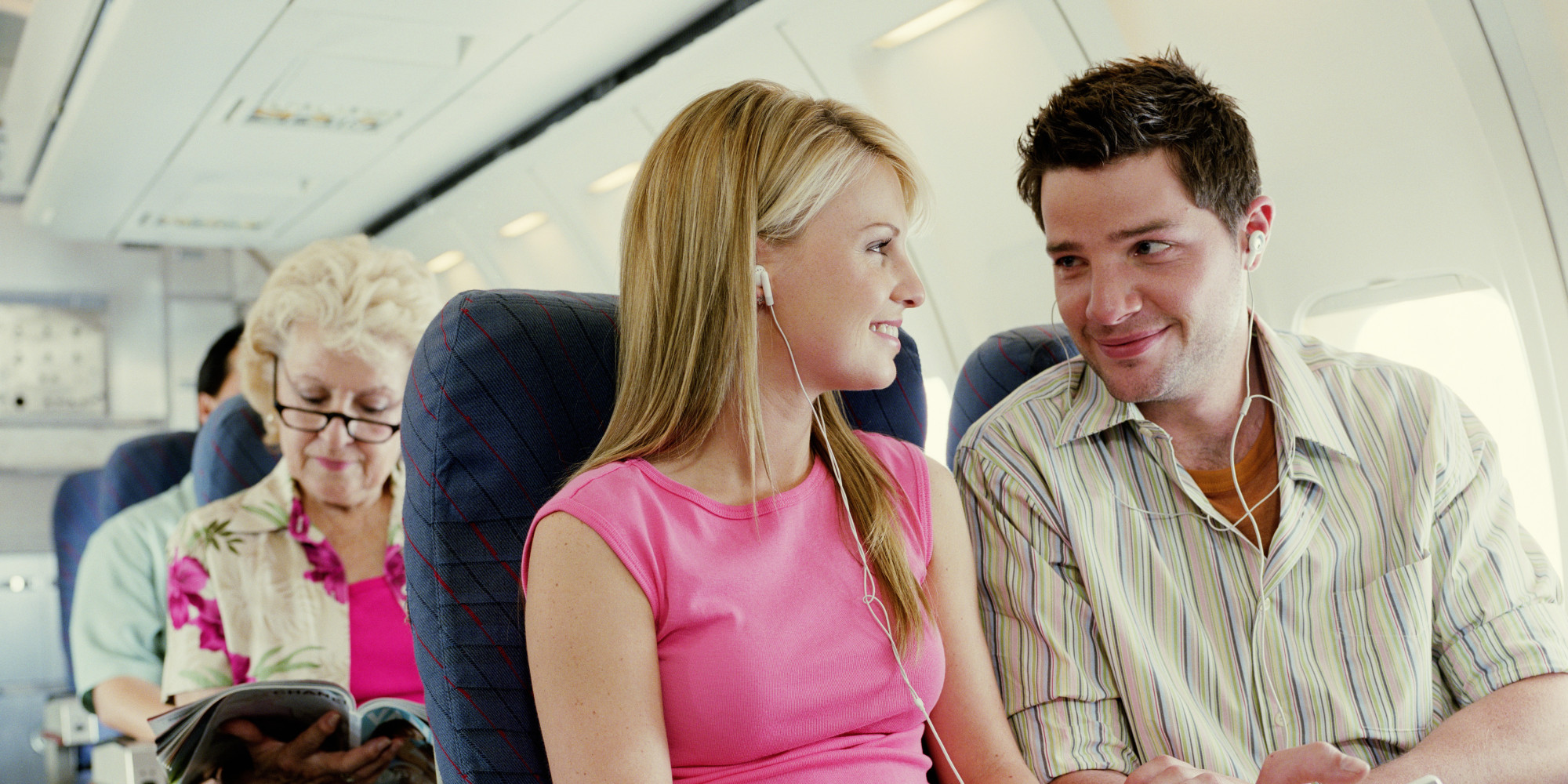 Image result for airplane flirt