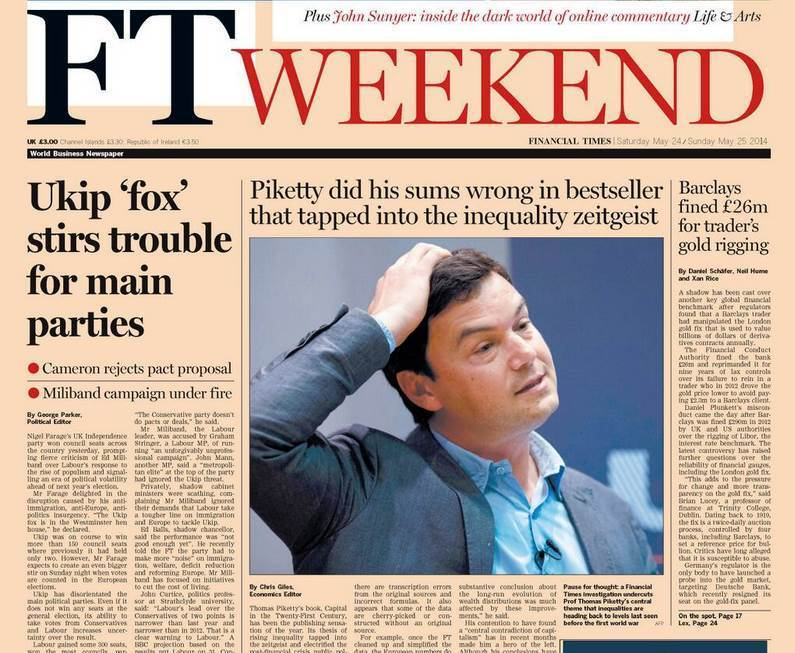 piketty financial times