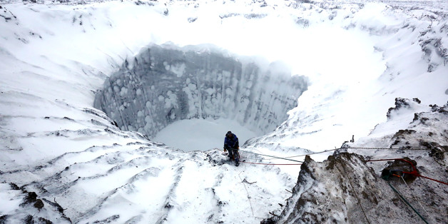 Huge New Holes In Siberia Have Scientists Calling For Urgent Investigation Of The Mysterious Craters