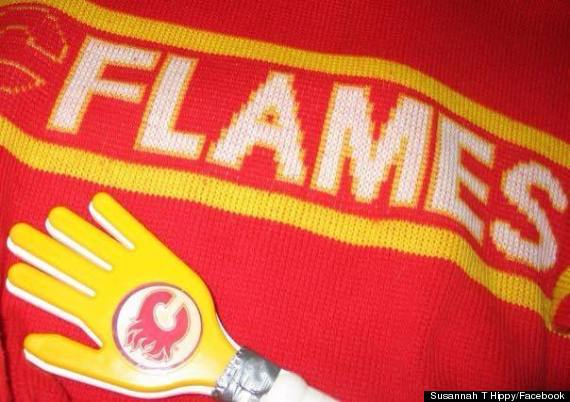 flames sweater