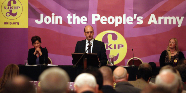 ROCHESTER, ENGLAND - NOVEMBER 13:  United Kingdom Independence Party (UKIP) candidate for the Rochester and Strood constinuency Mark Reckless addresses a public meeting on November 13, 2014 at the Town Hall in Rochester, England. Mark Reckless and UKIP party leader Nigel Farage encouraged the local people to vote for their party in the by-election for the Rochester and Strood constituency which will be held on November 20.  (Photo by Mary Turner/Getty Images)