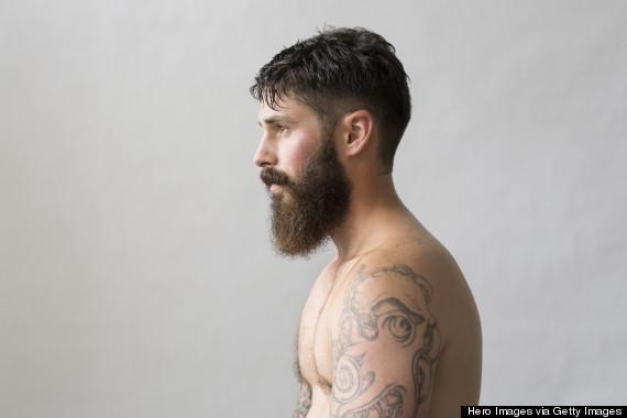 tattoo man beard
