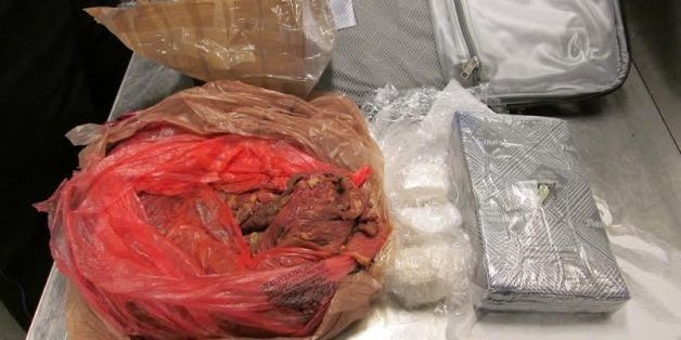 MEATLOAF SURPRISE! TSA Finds Cocaine In Raw Meat