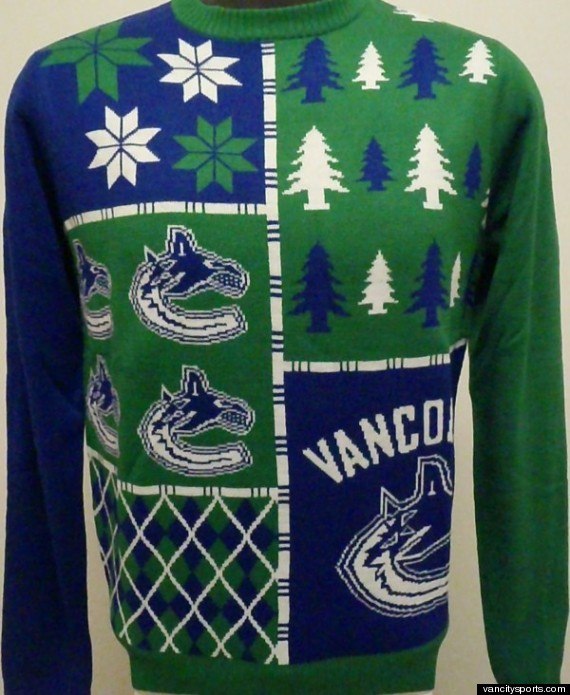 canucks ugly sweater