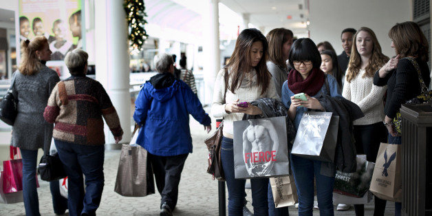 Black Friday Shoppers Can't Start On Thanksgiving In 3 States