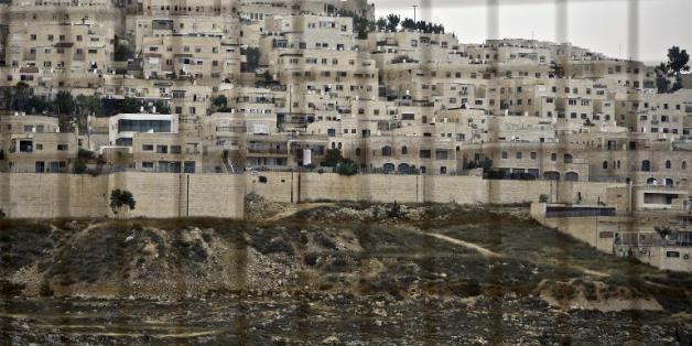 Vue de la colonie juive Ramat Shlomo le 5 juin 2014, dans la partie est de Jérusalem.