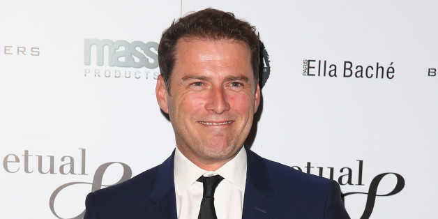 SYDNEY, AUSTRALIA - JULY 24:  Karl Stefanovic poses during the 'Clarkey For Kids Sports Lunch' at The Ivy on July 24, 2014 in Sydney, Australia.  (Photo by Don Arnold/WireImage)