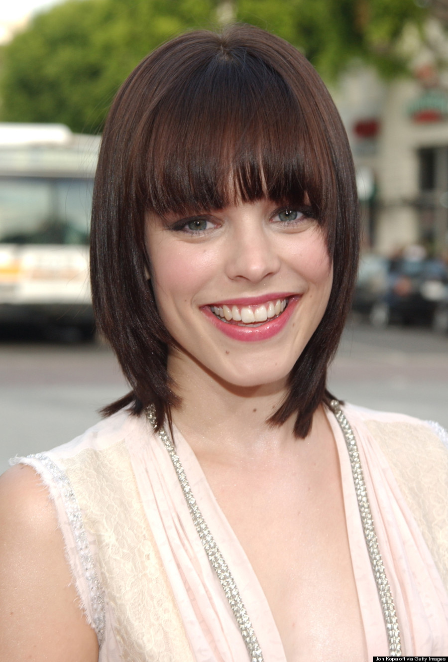 Rachel mcadams hair about time