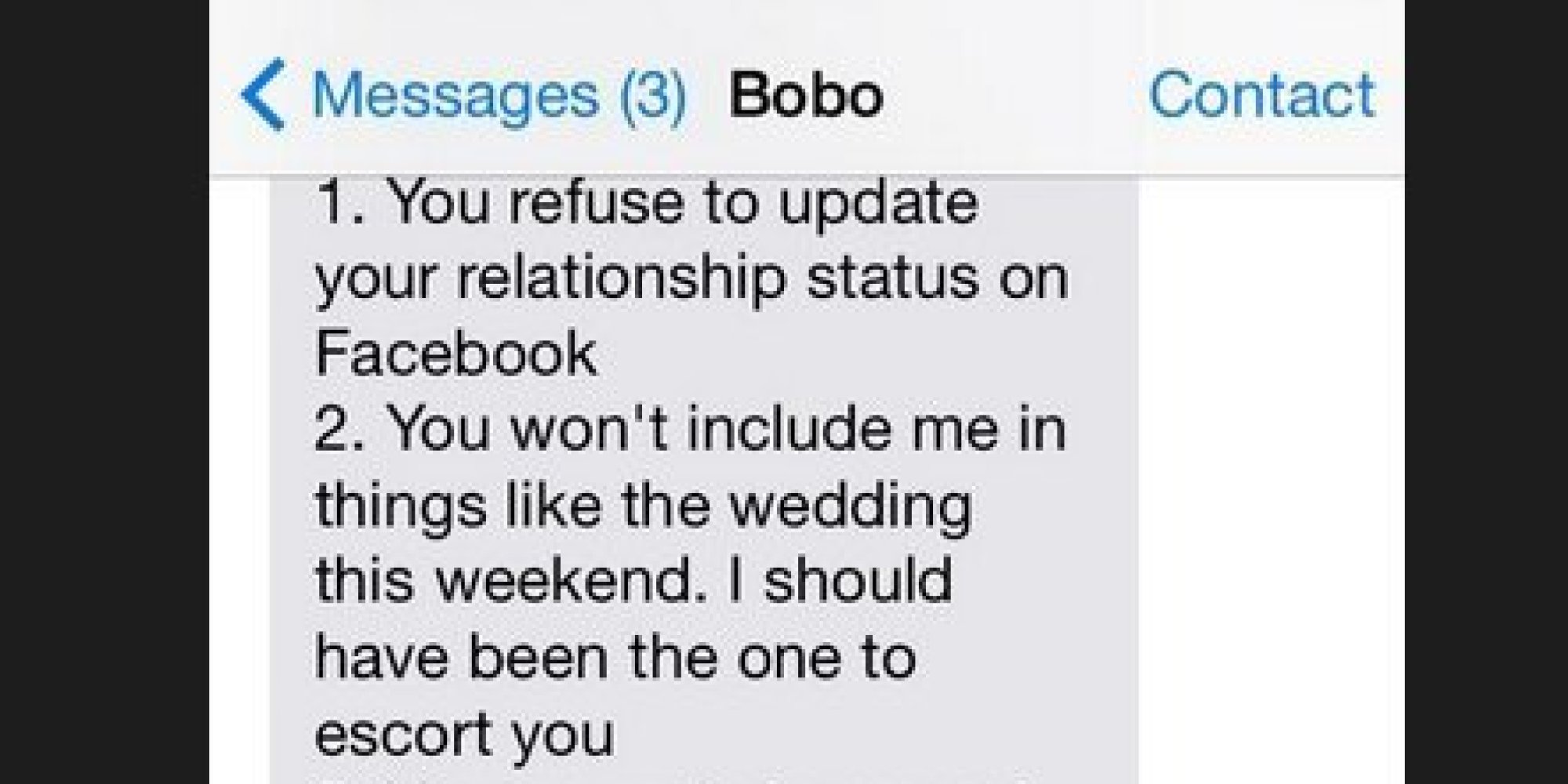 This Dude Just Took The Breakup Text To A Whole New Insane Level